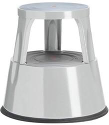 TWIN steel opstapkruk grijs