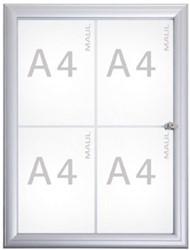 Buitenvitrine MAULadvanced, formaat 4 x A4