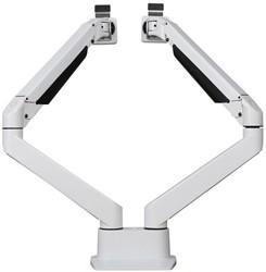 Devon dubbele monitorarm  - Wit tot 10kg