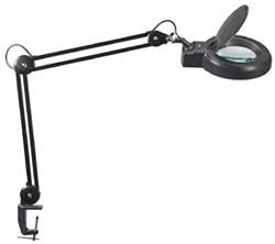 Loeplamp LED MAULviso, met tafelklem