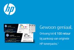 HP Tonerpacks cashback