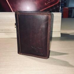 Maverick Dalian II secret wallet - kleingeldvak, donkerbruin