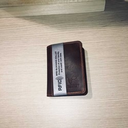 Maverick DALIAN II creditkaartkaarthouder RFID - donkerbruin