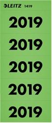RUGETIKET LEITZ 2019 JAARETIKET GROEN 100 STUK