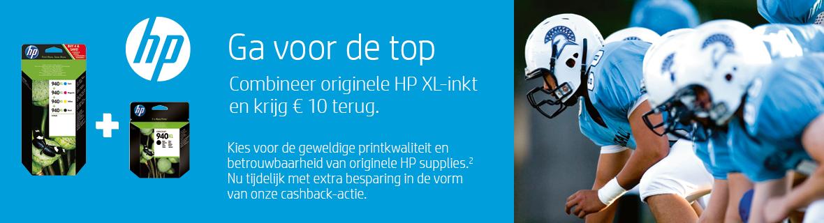 HP Ga voor de top