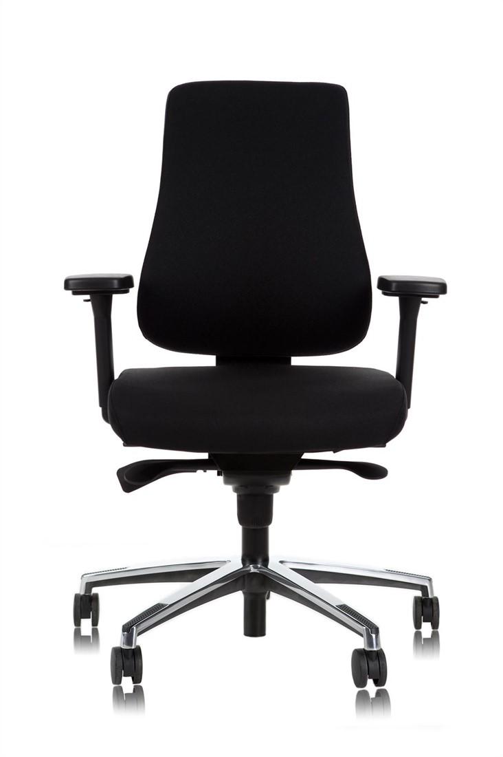 Bureau Stoel Luxe.Bureaustoel Datas Npr Ergo Luxe Zwart Bij Datas