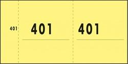 NUMMERBLOK SIGEL EXPRES GEEL 10 BLOK A 100 VEL 1 T/M 1000