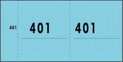 NUMMERBLOK SIGEL EXPRESGROEN 10 BLOK A 100 VEL 1 T/M 1000