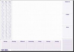 DESIGNONDERLEGGERS SIGEL TECHNIEK 59,5X41CM 30 VEL +
