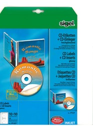 CD-ETIKETTEN & INLEGGERS COMBIPAK VOOR FOTOKWALITEIT