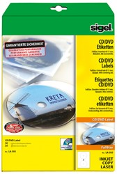 CD ETIKET SIGEL UNIVERSEEL 117MM DOOS ? 25 VEL