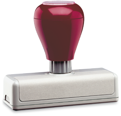 RM-10  (57x23mm) autostempel
