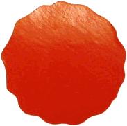Label roodkleurig, 51 mm. 1000 stuks