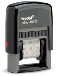 Trodat Printy 4822 z.i. woordstempel 4mm /zw