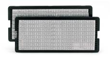 Letterset 6004 voor Trodat Typomatic 4mm