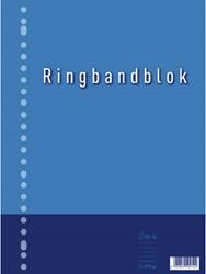 RINGBANDBLOK 23R A4 RUIT 5MM 60GR 1 STUK
