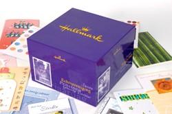 Wenskaarten + box