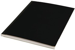 SCHRIFT HARDE KAFT A4 LIJN 200BLZ ZWART 1 STUK