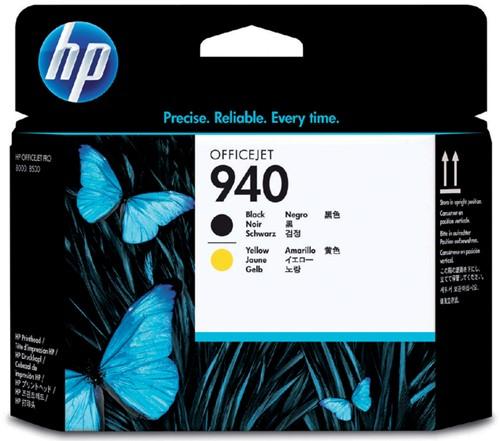PRINTKOP HP 940 C4900A ZWART EN GEEL 1 Stuk