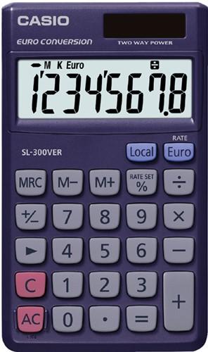 REKENMACHINE CASIO SL-300VER 1 Stuk