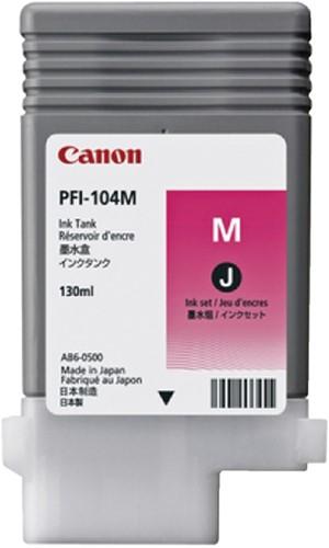 INKCARTRIDGE CANON PFI-104 ROOD 1 Stuk