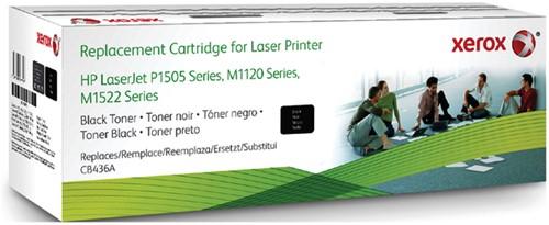 TONERCARTRIDGE XEROX HP CB436A 2K ZWART 1 Stuk