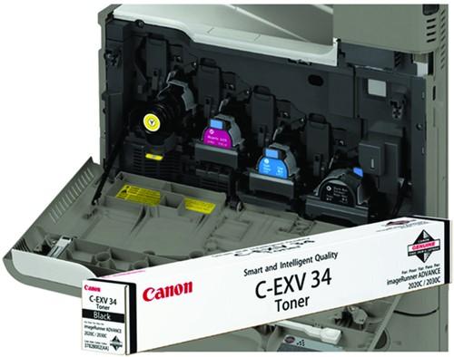 TONERCARTRIDGE CANON C-EXV 34 23K ZWART 1 Stuk