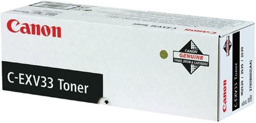 TONERCARTRIDGE CANON C-EXV 33 14.6K ZWART 1 Stuk