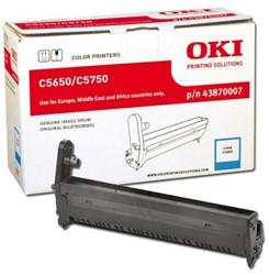 DRUM OKI 43870007 C5650 C5750 20K BLAUW 1 STUK