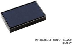 INKTKUSSEN COLOP 6E/200 BLAUW 1 STUK
