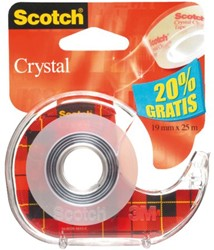 PLAKBAND 3M SCOTCH 61925DPO 19MM25XM SUPER TR 1 STUK