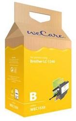 INKCARTRIDGE WECARE BRO LC-1240 GEEL 1 STUK