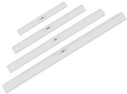 LINIAAL M&R 1150/000 PLASTIC 50CM TRANSPARANT 1 STUK
