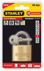 HANGSLOT STANLEY MESSING 40MM 1 STUK