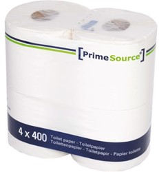 TOILETPAPIER PRIMESOURCE TISSUE 2LAAGS 400 VEL 40 ROL