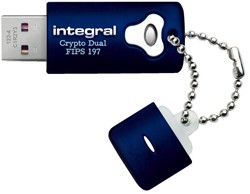 USB-STICK INTEGRAL FD CRYPTO DUAL 197 32GB 1 STUK