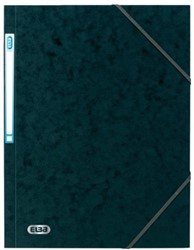 ELASTOMAP ELBA A4 3 KLEP MET RUGETIKET 150V ZW 1 STUK