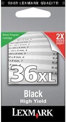 INKCARTRIDGE LEXMARK 36XL 18C2170E PREBATE HC ZWART 1 STUK