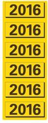 RUGETIKET ELBA 2016 GEEL JAARETIKET 120 STUK