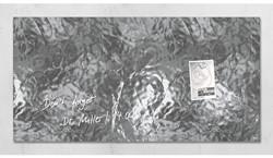 GLASBORD SIGEL MAGNETISCH 910X480X15MM ZILVER 1 STUK