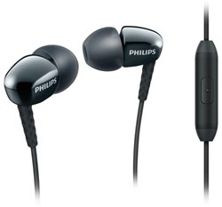 HEADSET PHILIPS E3905 IN EAR SMARTPHONE ZWART 1 STUK