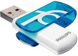 USB-STICK PHILIPS VIVID KEY TYPE 16GB 2.0 BLAUW 1 STUK