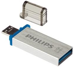 USB-STICK PHILIPS MICRO KEY MONO 16GB 3.0 1 STUK