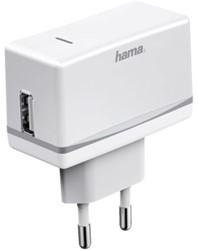 OPLADER HAMA USB 1A WIT 1 STUK