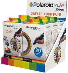 DISPLAY 3D POLAROID 3X PEN + 3X FILAMENT 6 STUK
