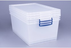 OPBERGBOX REALLY USEFUL 62LITER 700X440X280MM 1 STUK