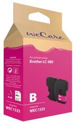 INKCARTRIDGE WECARE BRO LC-980 ROOD 1 STUK