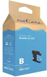 INKCARTRIDGE WECARE BRO LC-223 BLAUW 1 STUK