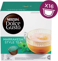 DOLCE GUSTO MARRAKESH TEA 16 CUPS / 8 DRANKEN 16 CUP
