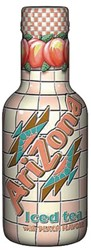 FRISDRANK ARIZONA ICED TEA PEACH 0.50L PET 6 STUK